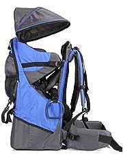 Muzyo Cross Country Baby Backpack Child Carrier Backpack Lightweight Hiking Baby Sun Toddler Kid Packs Shade Visor