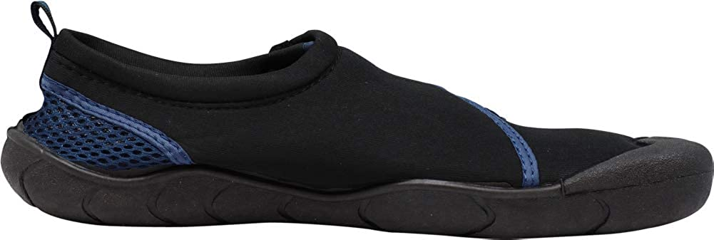 18 Color Combinations Waterproof Slip-ONS for Pool Beach and Sports NORTY Mens Aqua Sock Wave Water Shoes