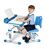 SIMBR Kids Desk and Chair Set, Height Adjustable