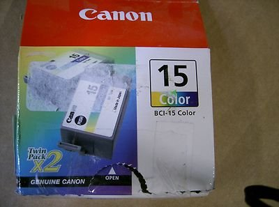 CANON color ink cartridge (#bci-15) 8191A003 by Canon