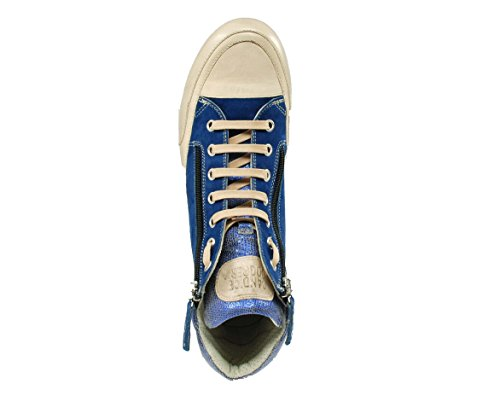 Candice Cooper Sneaker blau kombi