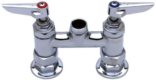 TS Brass B-0225-LN Deck Mounted Mixing Faucet, Chrome