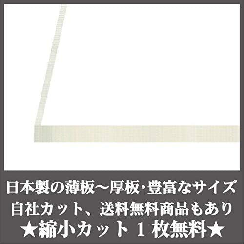 日本製 アクリル板 透明(押出板) 厚み20mm 300X600mm 縮小カット1枚無料 カンナ・糸面取り仕上(エッジで手を切る事はありません)(キャンセル返品不可)