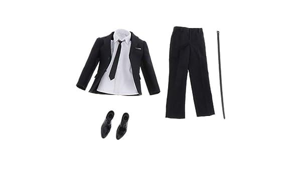 Amazon.es: IPOTCH 1/6 Conjunto de Traje y Camisa Corbata y Zapatos ...