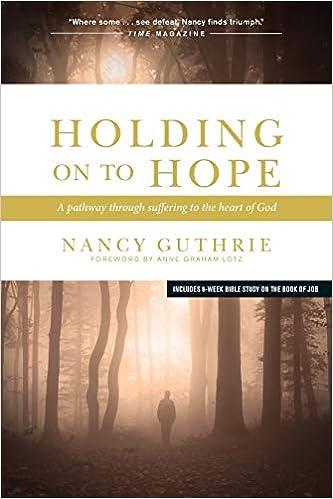 Holding Onto Hope - Nancy Guthrie