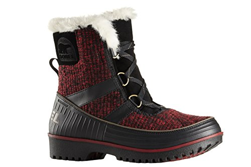 Snow Sorel Mud 5 Lace Women's Tivoli II Size Dahlia Boot Up M 8 Red wBaTw
