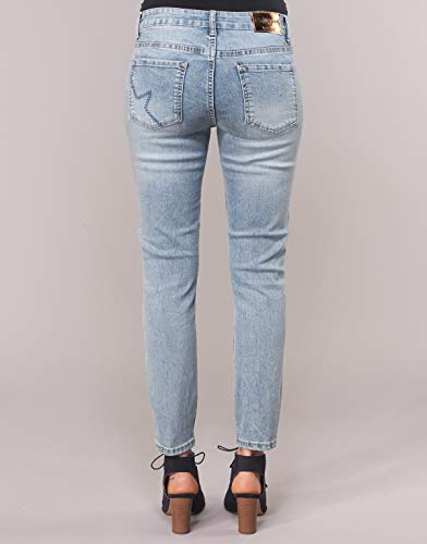 Trousers Denim 19swdd35516024 Medium Desigual Denim Light olimpia ZUaSw5xgq