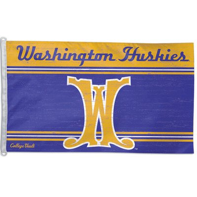 NCAA College Vault Washington Huskies 3-by-5 Foot Vault Flag