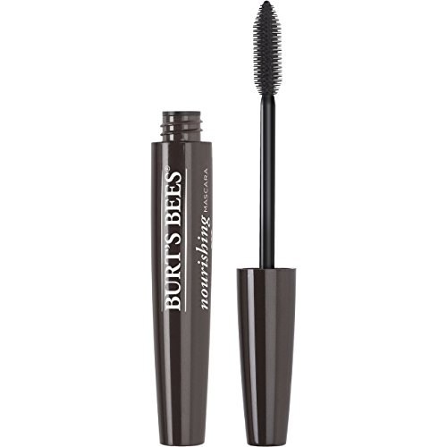 Burt's Bees 100% Natural Nourishing Mascara, Black Brown, 0.4 oz (All Natural Mascara)