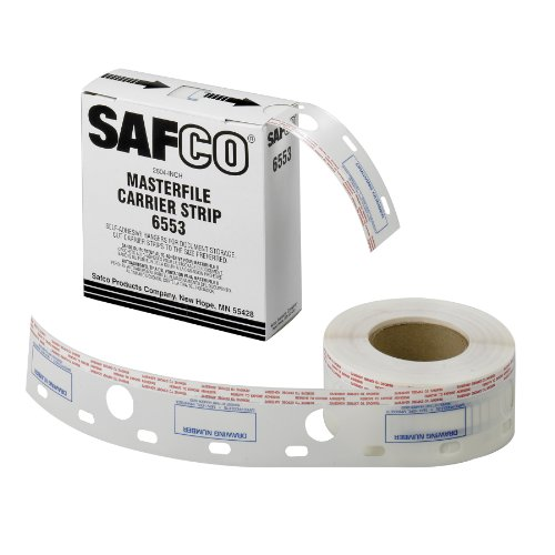 (Safco Products 6553 Polyester Carrier Strips, 2 1/2
