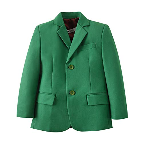 YuanLu Formal Dresswear Boys Tuxedo Suits Blazer Coat Green Size 8 -