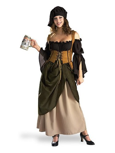 Tavern Wench And Costumes Costume Medieval Renaissance (Tavern Wench Adult Costume -)