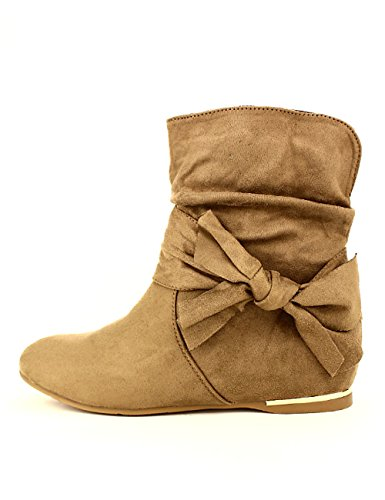 Cendriyon Femme Bottine Chaussures Taupe Mode Xana AnHrx4Wn