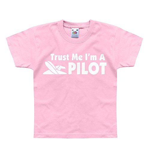 nutees-trust-me-im-a-pilot-plane-funny-unisex-kids-t-shirts-light-pink-7-8-years