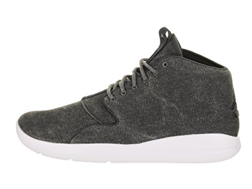 Jordan Nike Herren Eclipse Chukka Basketballschuh Anthrazit / Schwarz Weiß