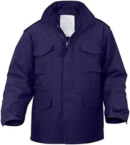 Rothco M-65 Field Jacket - Navy Blue 510885c37f2