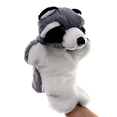 NUOBESTY Animal Hand Puppet Hand Puppet Toy Cute Plush Doll Kindergarten Children Educational Toy: Toys & Games