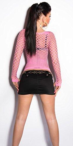 Camisas Rosa Mujer Stylefashion In Cuello Para Redondo xf5U4aq4w