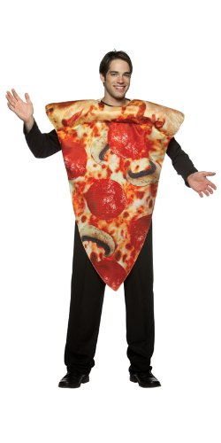 Pizza Slice Costume - One Size - Chest Size 48-52