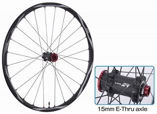 "Shimano Deore XT Front Wheel 26"" 15mm Through Axle NEW WH-M778"