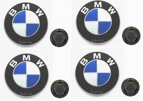 4 BMW Genuine BBS STYLE 5 Wheel Cap Emblem Decal E30 318i 325e M3 M5 OEM by BMW (Image #1)