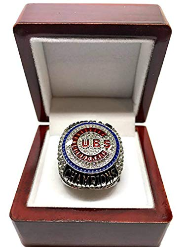 - 2016 CHICAGO CUBS WORLD SERIES RING REPLICA (ENGRAVED) SIZE 11 Rizzo