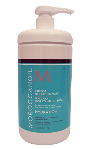 Moroccan Oil Intense Hydrating Mask, 33.8 Ounce (Moroccanoil Hydrating Mask)