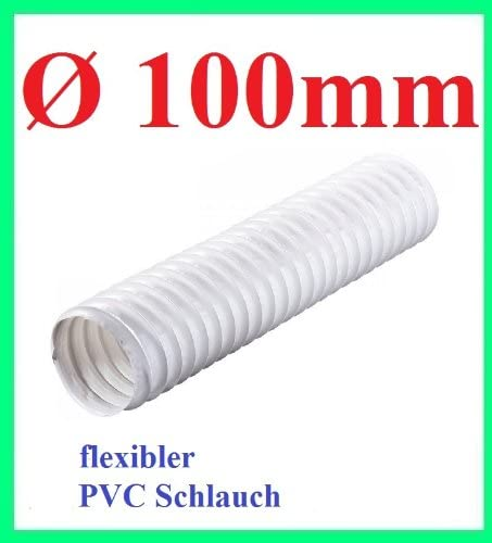 4 x 0,75 mm flexible plastique tuyau canalisation Blanc 1,16 €//m œ 3 m