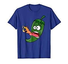 If you eat the hottest sauce in the world you'd be like this funny chili pepper breathing fire! If you like to add spicy chili sauce to your meals or love spicy chicken wings, then this chili pepper shirt is for you.