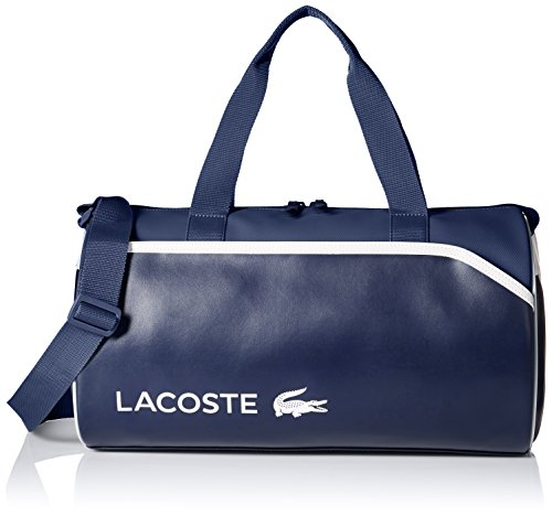 Lacoste Men's Ultimum Duffle Bag, Peacoat White, One Size