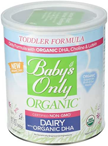 Baby Formula: Baby's Only DHA & RHA Dairy
