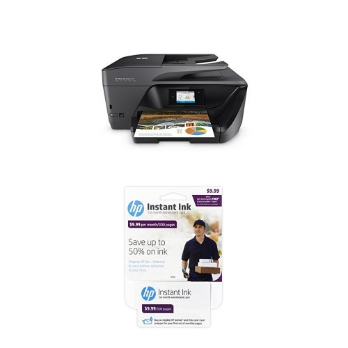 HP OfficeJet Pro 6978 Wireless All-in-One Photo Printer with Instant Ink Bundle