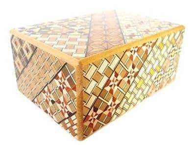 Yosegi Puzzle Box 4 sun 4 steps