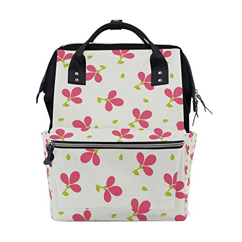 MALPLENA Daypack Red Clover School Bag Travel Backpack ()