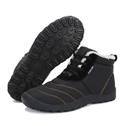 Snow Black Man Winter BlanKey Boot Slip Cotton Cashmere Shoes Warm Outdoor amp;Womens Anti gxCBq