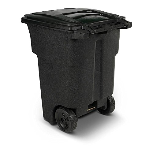 Toter 96 Gal Wheeled Blackstone Trash - 30 Gallon Trash Can Decorative