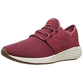 New Balance Women's Fresh Foam Cruz V2 Sneaker, Earth red, 11 B US