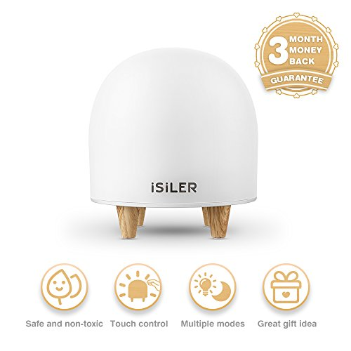 [LED Night Light for Kids, iSiLER Portable Silicone Cute Nursery Night Lamp, Romantic Dim Mood Lamp, Touch Control Bedside Lamp, Baby Night light BPA-Free, 48 Hours Runtime] (Cute Baby At Halloween)