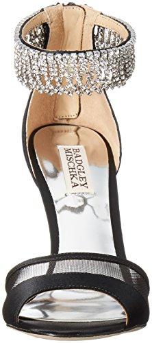 Mischka Damen Schwarz Kleid Badgley Sandale Gazelle 7BxqwxTa