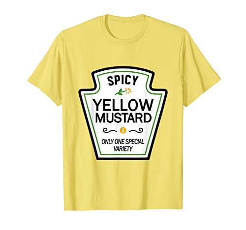 Mustard Condiments Group Halloween Costumes T-Shirt T-Shirt