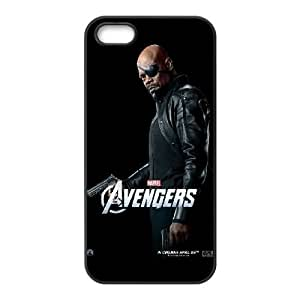 The Avengers Nick Fury iPhone 5 5s Cell Phone Case Black DIY Gift xxy002_5067255