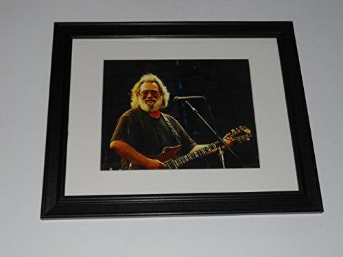 Cleveland Vinyl Framed Jerry Garcia 1990 Concert Shot Mini-Poster, 14