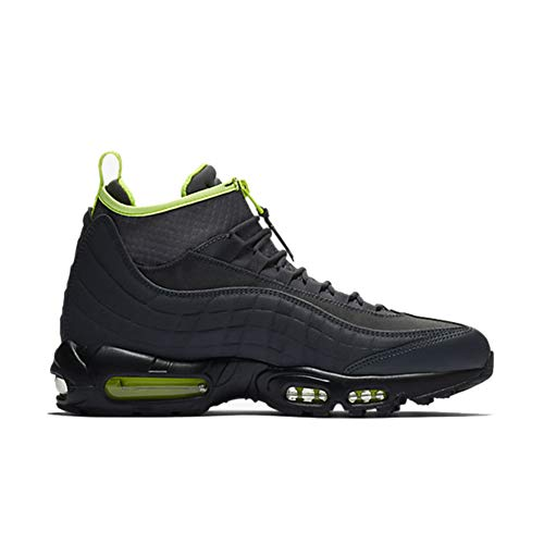 Volt Air - Nike 806809-003: Men's Air Max 95 Anthracite/Volt/Dark Grey-Black Sneaker (8.5 D(M) US Men)