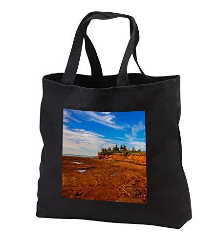 Elysium Photography - Landscape - Prince Edward Island shoreline - Tote Bags - Black Tote Bag JUMBO 20w x 15h x 5d (tb_289630_3) (Tote Cotton Shoreline)