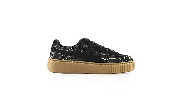Zapatillas Puma Platform Exotskin Black Gold Rihanna: Amazon.es: Zapatos y complementos