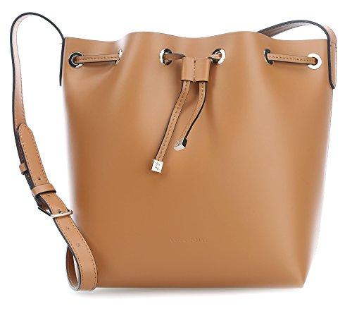 COCCINELLE C1Yo0 Ariel Calf, Bolso Bandolera para Mujer, 13x27x24 cm (W x H x L) brown_light brown, braun