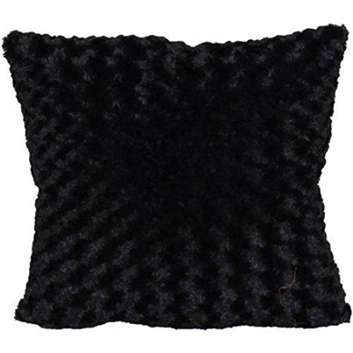 Better Homes Gardens Rosette Fur Decorative Toss Pillow 18