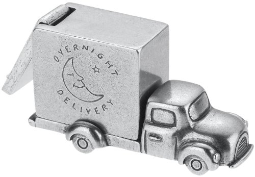 Danforth - Truck Pewter Toothfairy Box - Handcrafted - Gift Boxed - Made in - Pewter Box Fairy Tooth