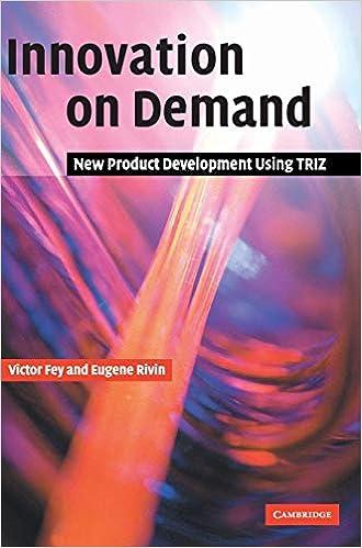 New Product Development Using TRIZ Innovation on Demand