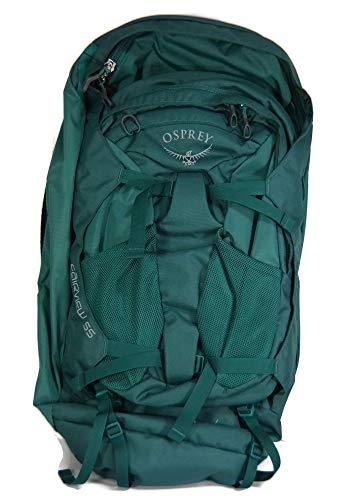 Osprey Packs Fairview 55 Women's Travel Backpack, Rainforest Green, Small/Medium